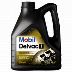 Дизельное масло Mobil Delvac 1 SAE 5W-40