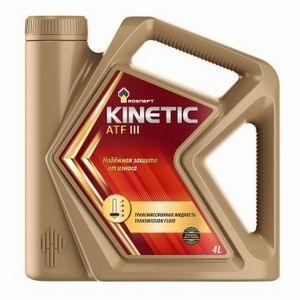 Масло для АКПП Rosneft Kinetic ATF III